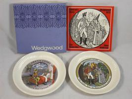 Wedgwood 1971 & 1972 Children's Stories THE TINDER BOX & THE SANDMAN Plates - $19.99
