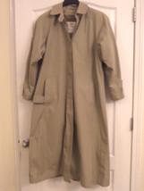 Vintage Women's London Fog Maincoats Trench Coat - with Zip Liner - Sz 8... - $25.00