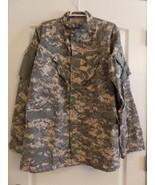ACU Size LARGE LONG Digital Camo Long Sleeve Shirt ARMY COMBAT UNIFORM - $9.99