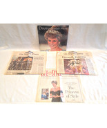 Princess Diana Sealed 1998 Calendar & 3 News Papers from Burial LA Times - $9.99