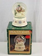 "Pfaltzgraff Nordic Christmas Musical Snow Globe ""Sleigh Ride"" in Box 247... - $19.94 CAD"