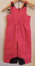 Faded Glory Pink Bib Snow Pants Sz 3T - L@@K !! - $15.00