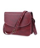 Retro Mini Women Shoulder Bag Imitation Leather Messenger Packet Satchel... - £5.26 GBP+
