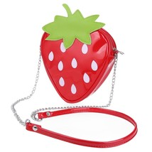 Strawberry Shoulder Messenger Packet Phone Purs... - $11.39