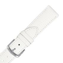 New Hadley Roma LS725 10mm White Java Lizard Grain Stitched Ladies Watch... - £13.03 GBP