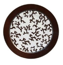 Raynaud Cristobal Chocolate Bread & Butter Plate - $49.00