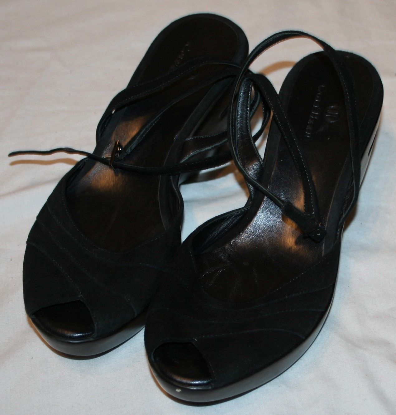 4ea65354539f Cole Haan Womens Black Ankle Strap Sandals and 29 similar items