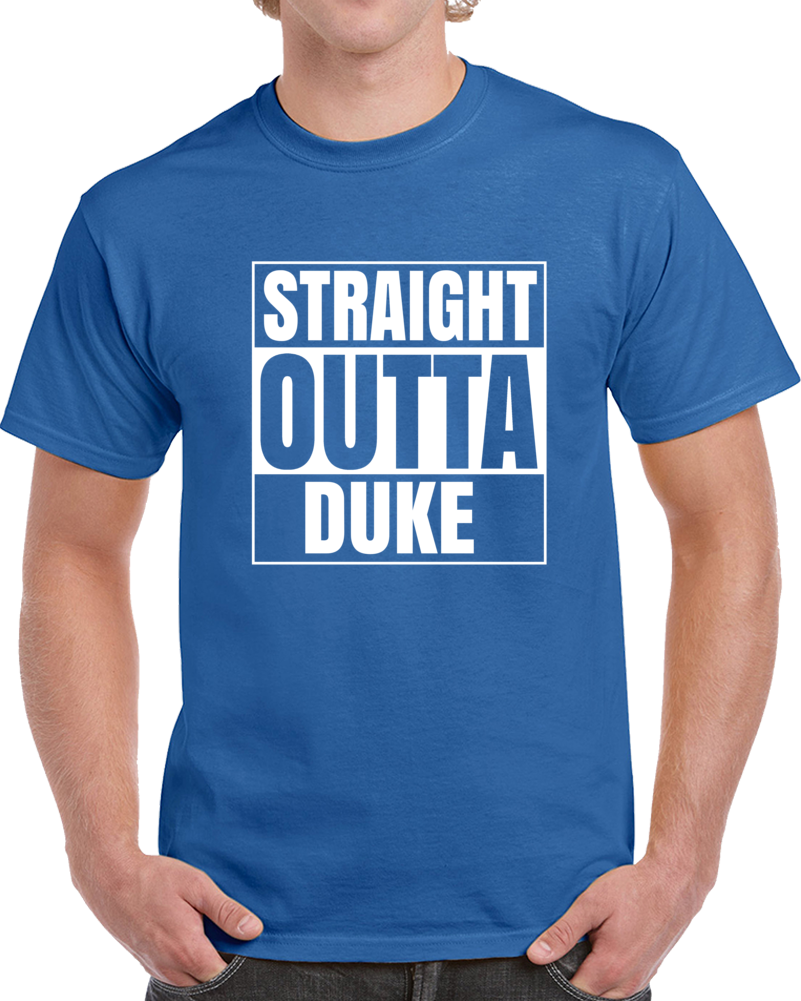 Primary image for Straight Outta Duke Graduate College University Compton T Shirt