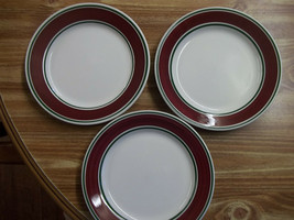 "(3) Homer Laughlin DOC-1 Salad/Dessert Plates 8"" - $9.49"
