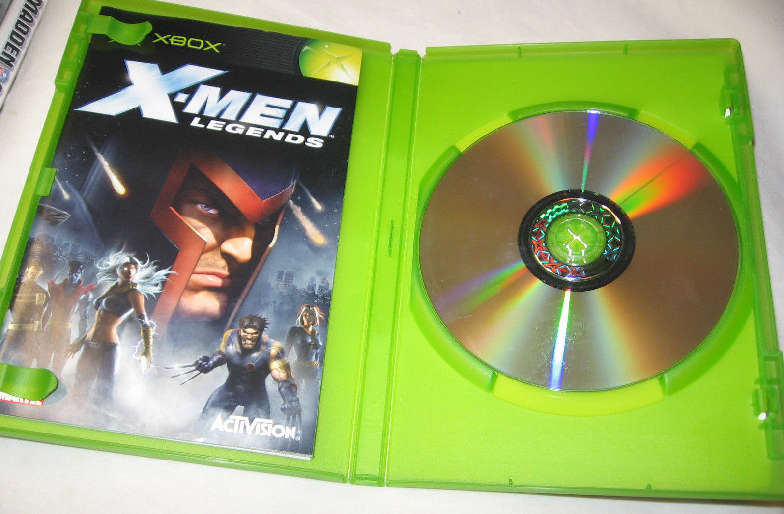 X-Men Legends Xbox, 2004 Third-Person, Role Playing, Action FREE SHIPPING U.S.A image 2