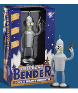 "Futurama Die Cast Metal Grey Bender 5"" Heavy Weight - $65.00"
