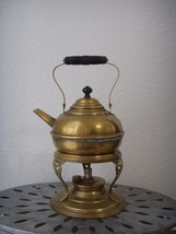 Antique Ca. 1900 Brass Copper Tea Pot Kettle w/... - $169.99