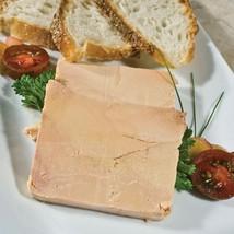 Duck Foie Gras - Micuit / Ready to Eat, Terrine, by Rougie - 1 terrine - 17.5 oz - $107.42