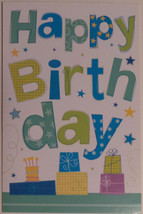"Greeting Card Birthday ""Happy Birthday!"" - $1.50"
