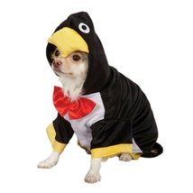 Zack & Zoey Penguin Pup Costume, Black, Large - $49.95