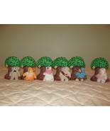 Tree Bears set of 6  - $7.00