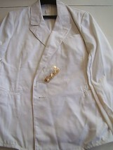 Ussr Cccp Soviet Navy Naval Officer's Late 80's Double Breasted Summer Jacket - $28.70