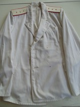Ussr Cccp Soviet Navy Naval Officer's Mid 80's Double Breasted Summer Jacket - $34.64