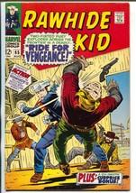 Rawhide Kid #65 1968-Marvel-Stan Lee-Larry Leiber-Bill Everett-VF+ - $88.27