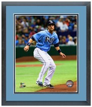 "11"" x 14"" Framed & Matted Ben Zobrist Tampa Bay Rays - Studio Photo Pluses - $43.95"