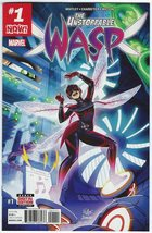 The Unstoppable Wasp Issue #1 Whitley Charretier Marvel Comics - 2017 - $7.99