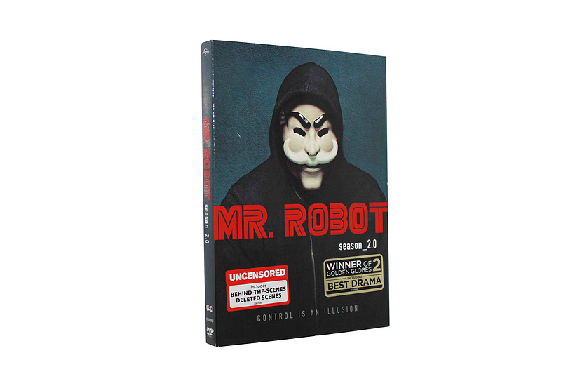 Mr. Robot The Complete Seasons 1-2 1,2 DVD Box Set 7 Disc Free Shipping New