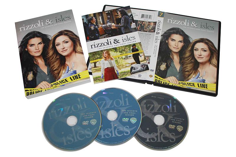 Rizzoli & Isles The Complete Seventh Season 7 DVD Box set 3 Dsic Free Shipping
