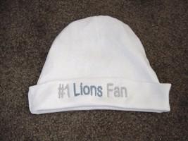 Detroit Lions Football  Baby Newborn Hospital Hat Cap - $14.99