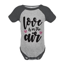 Custom Party Shop Kids Love is in the Air Valentine's Day 18 Months Grey... - £15.79 GBP