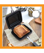 easy sandwich maker toaster breakfast grill pan... - $38.00
