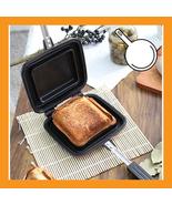 Sandwich maker toaster breakfast grill pan panini bread non stick coating - $40.00