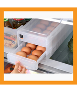 32 slot refrigerator egg tray holder 2 tier bin... - $25.00