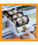 refrigerator can dispenser organizer storage bo... - $13.50