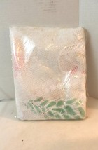 """Lace Christmas Tablecloth 60"""" Round Colored Des... - $25.00"""