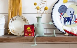Vase Funky Flexible Arms Legs Original Design F... - $27.00
