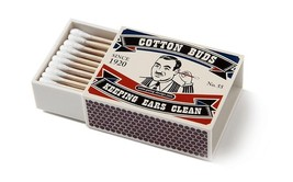 Cotton Buds Holder Original Design Vintage Matches Box Home Room Office ... - $18.00