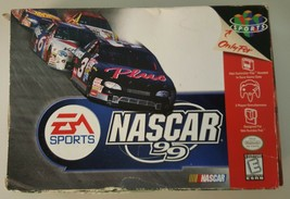 N) NASCAR 99 (Nintendo 64, 1998) Video Game - $3.95