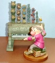WDCC Disney Classics Grumpy & Pipe Organ Humph! Snow White Figurine 2 PC... - $135.90