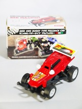 BEAM Capsule Toy MINI 4WD BUGGY TYPE PULLBACK CAR No. 1 RED MAGNUM CAR - $9.99