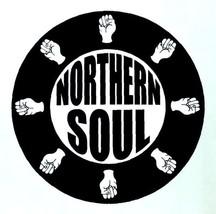 Northern Soul vinyl sticker 120mm diameter Wigan Casino Twisted Wheel mo... - $3.76