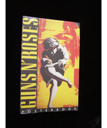 Guns'N'Roses Poster Book Button Up 1991 New - £39.80 GBP