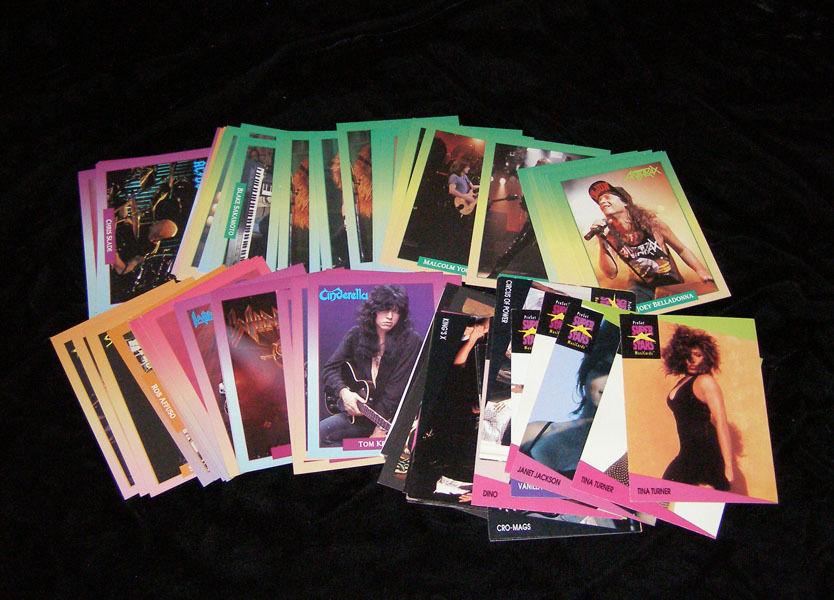 Music Trading Cards Pop Metal Rock Tina and 50 similar items