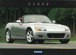 2000 Honda S2000 sales brochure sheet INTRO 00 US roadster - $10.00