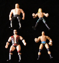 Wrestling Action Figure Lot WCW Scott Hall NOW Diamond Dallas Page Jericho + - $27.00