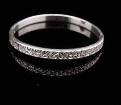 Sterling Bangle silver bracelet Vintage sparkling ladies bracelet Birthd... - $95.00