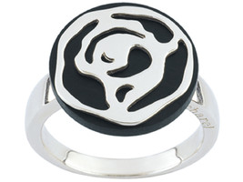 Ring Cacharel for all occasions, round shapes (CNR204M), Sterling Silver... - £34.18 GBP