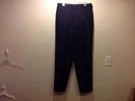 Men's Claiborne Dark Gray Cuffed Dress Pants