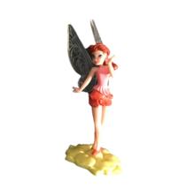 Rosetta Garden Fairy Figure Cake Topper Kids Disney Playmates Toys Colle... - $4.94