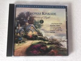 Thomas Kinkade Painter Of Light Inspirational Screen Saver PC CD-ROM Windows 95 - $22.77
