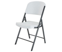 Lifetime Commercial Contoured Folding Chair 4 Pack - White [model 42804] - $158.94